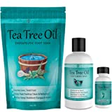 Amazon Price History for:Purely Northwest Foot and Toenail System with 16 oz Tea Tree Oil Foot Soak, 9 fl oz Antifungal Tea Tree Oil Foot & Body Wash and 1 fl oz Tea Tree Nail Blend