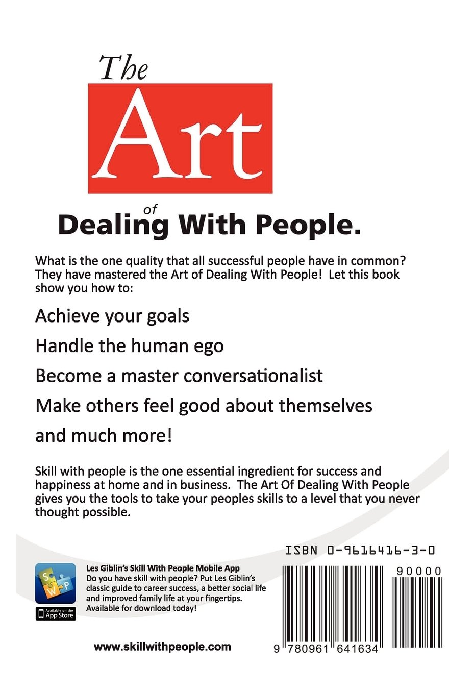 The Art Of Dealing With People: Les Giblin: 9780937539583: Amazon.com: Books