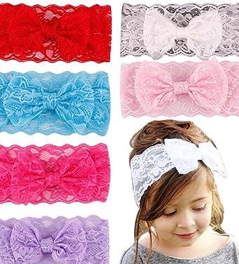 Amazon Baby Girl Headband Lace Headband Bow Headband Baby Girl