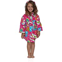 Komar Kids Ocean Print Cotton Hooded Terry Robe Cover Up, Sizes 4-12