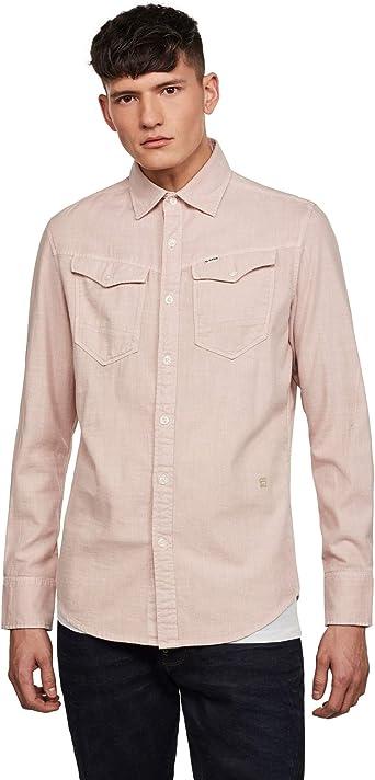 G-STAR RAW Arc 3D Slim Camisa para hombre: Amazon.es: Ropa y accesorios