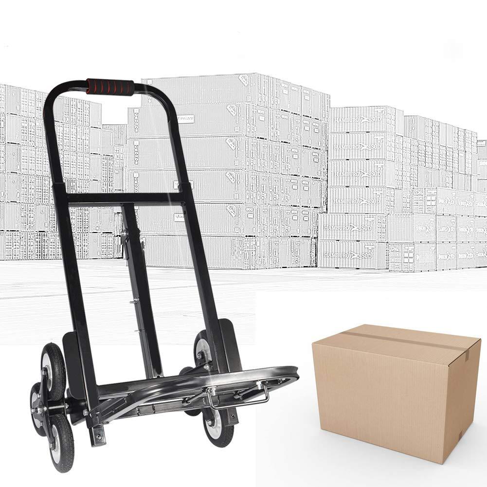 soulong carrito plegable escalera carretilla de transporte mudanza (acero al carbono, Capacidad 200 kg: Amazon.es: Industria, empresas y ciencia