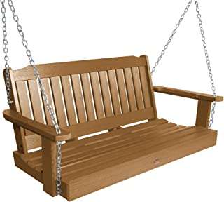 product image for Highwood AD-PORL2-TFE Lehigh Porch Swing, 4 Feet, Toffee