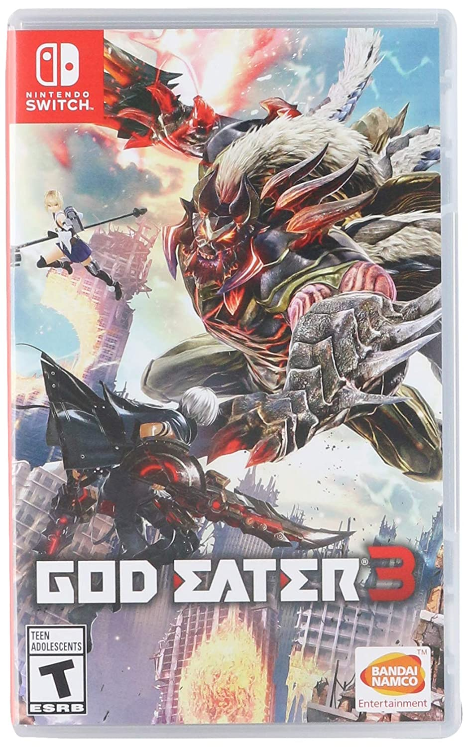 GOD EATER 3 for Nintendo Switch [USA]: Amazon.es: Bandai Namco Games Amer: Cine y Series TV