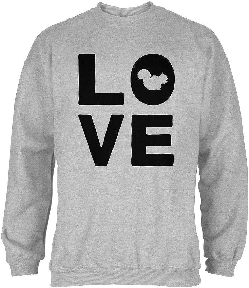 Old Glory Squirrel Love Mens Sweatshirt