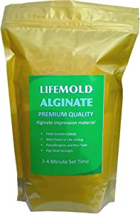 LifeMold Alginate 1-lb Skin-Safe Mold Making Material
