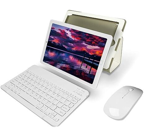 Tablet 10 Pulgadas YESTEL Android 8.0 Tablets con 3GB RAM & 32GB ROM y 4G LTE Dual SIM Call, 5.0 MP + 8.0 MP HD la Cámara y 8000mAH (WI-FI ,GPS, ...