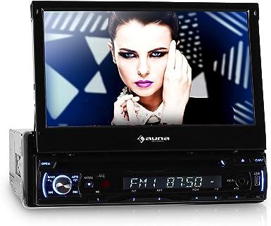 auna DTA90BT autorradio con Pantalla LCD de 7