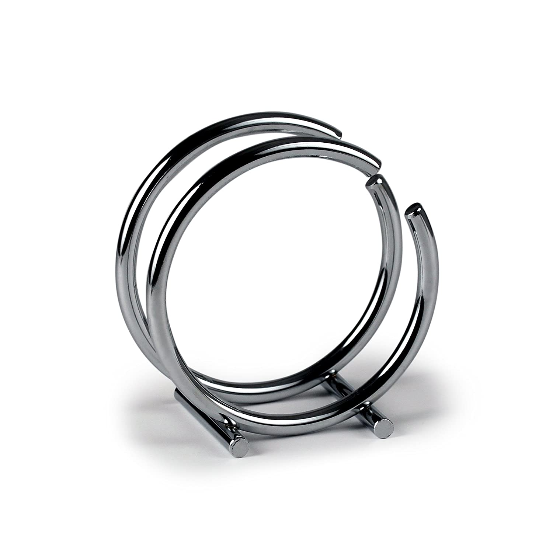 Spectrum Diversified Euro Round Napkin Holder, Satin Nickel Spectrum Diversified Designs Inc. 50278