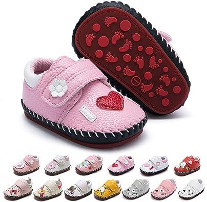 Baby Boys Girls Walking Sneakers Pu
