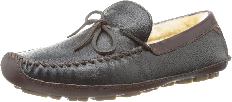 Trask Mens Polson Slip-On Loafer,Black Elk,11 M US