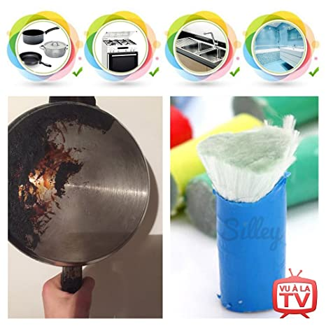 [e] 2016 silley® Magic Stick (), 2 unidades, metal, acero inoxidable ☆ limpiador, acero, baldosas, ...