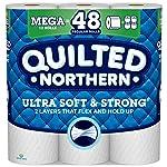 Quilted Northern papel higiénico ultra suave y fuerte, 12 unidades