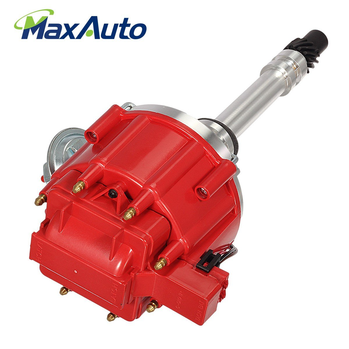 Maxauto Ignition Distributor With Cap Rotor For Chevy 350 Hei Rebuild Kit Sbc Bbc 454 Fits 1103200 301895 850001r Gm08 Automotive