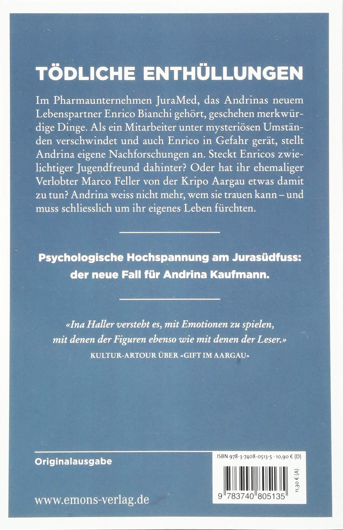 a29e1d045a342 Aarauer Finsternis  Kriminalroman  Amazon.de  Ina Haller  Bücher