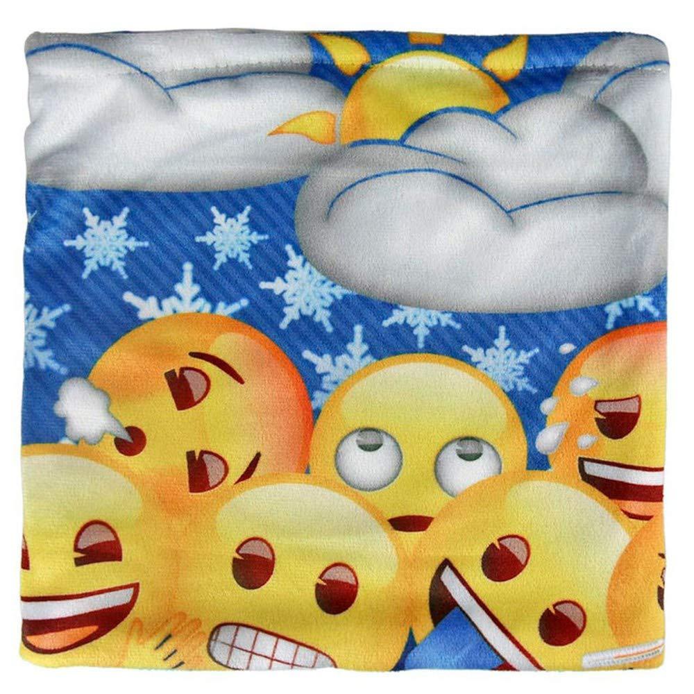 Cerdá Emoji, Bufanda para Niños, (Amarillo 001), One Size (Tamaño del Fabricante:única) 2200002477
