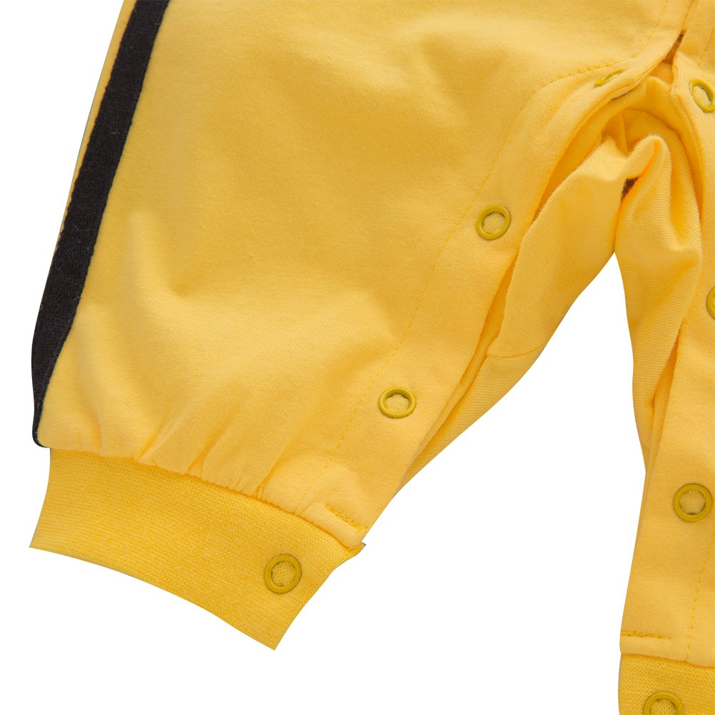 XM Nyan Mays Baby Toddler Boys Chinese Kung Fu Style Romper Onesie Outfit