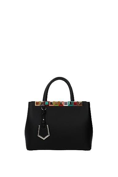 Fendi sac à main femme en cuir petite 2jours noir  Amazon.fr ... 26972252952