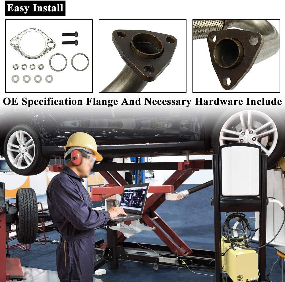 MAYASAF Catalytic Converter w//Gasket Fit for 2007 2008 2009 Jeep Wrangler 3.8L V6 EPA Compliant