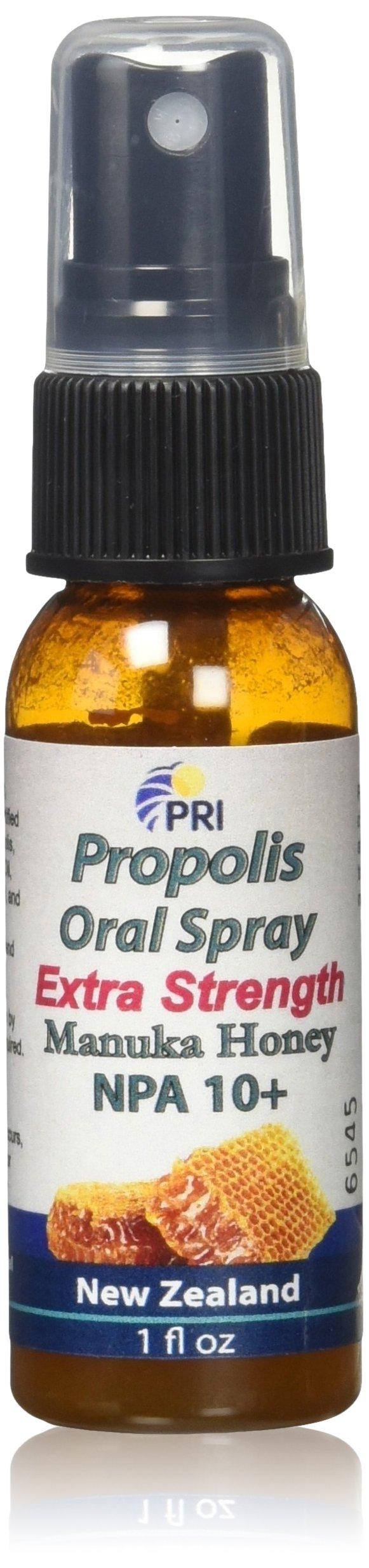 PRI Propolis Manuka Honey Oral Spray 1oz