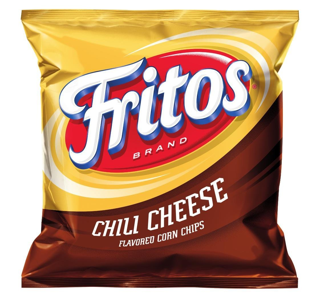 B000R7RLCQ Fritos Corn Chips, Chili Cheese, 2-Ounce Large Single Serve Bags (Pack of 64) 71I08-9yhRL