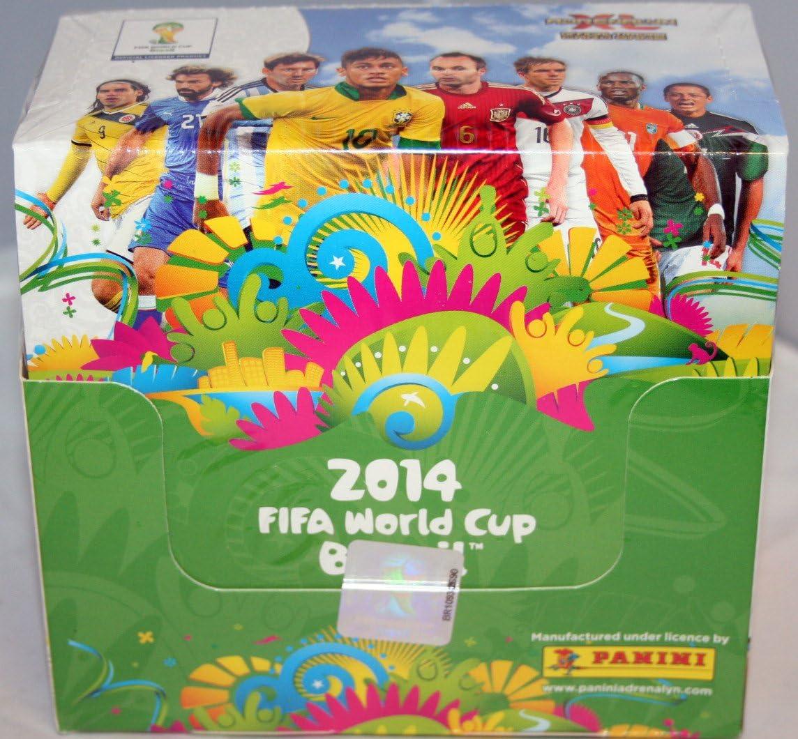 Panini – FIFA 2014, Adrenalyn XL Copa Mundial Brasil caja de 50 ...