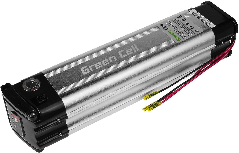GC/® Batterie E-Bike 36V 11Ah V/élos /Électriques Pedelec Silverfish avec Chargeur et Cellules Panasonic T/éo Fat Bike Saxonette Movena