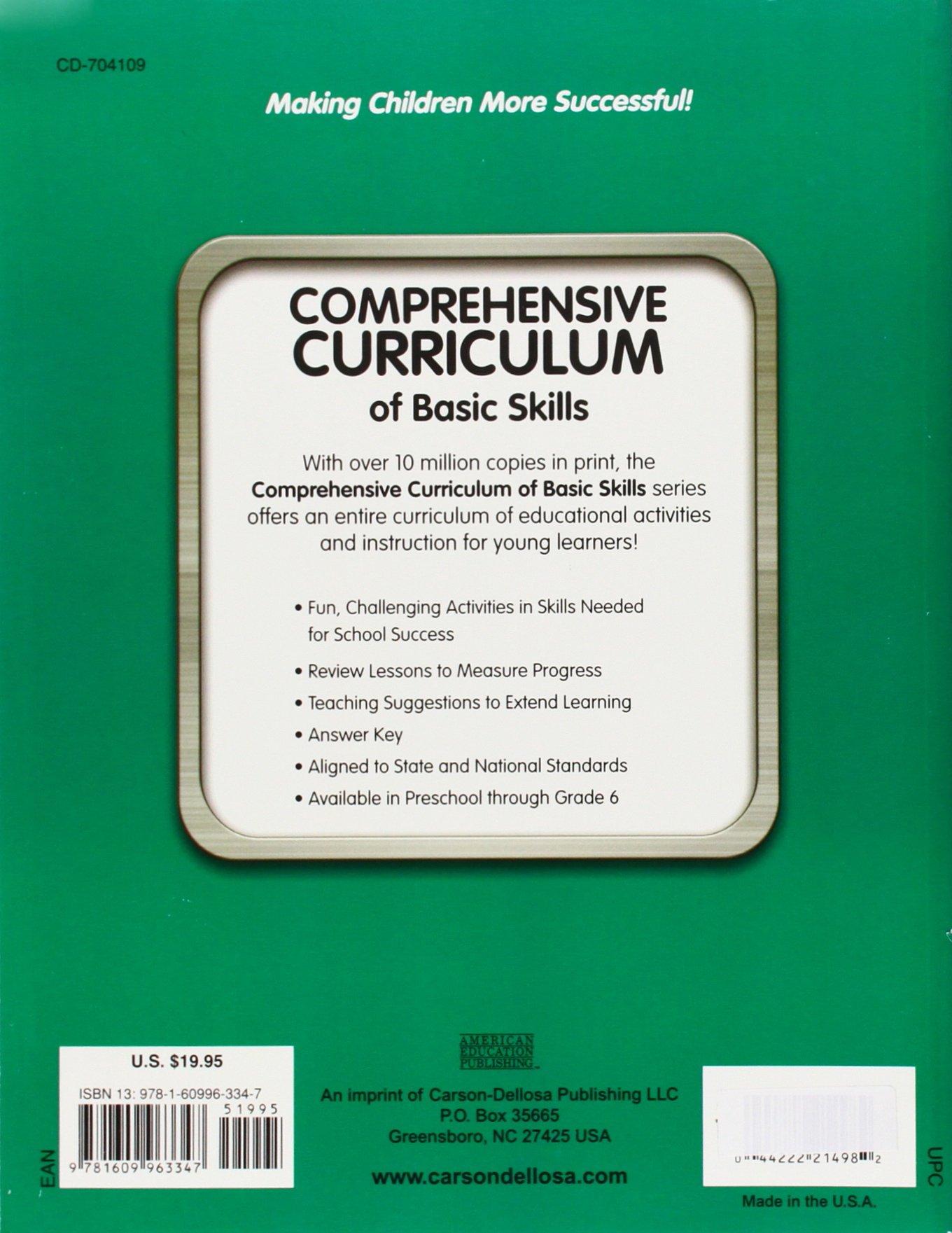 Comprehensive Curriculum of Basic Skills, Grade 5: American