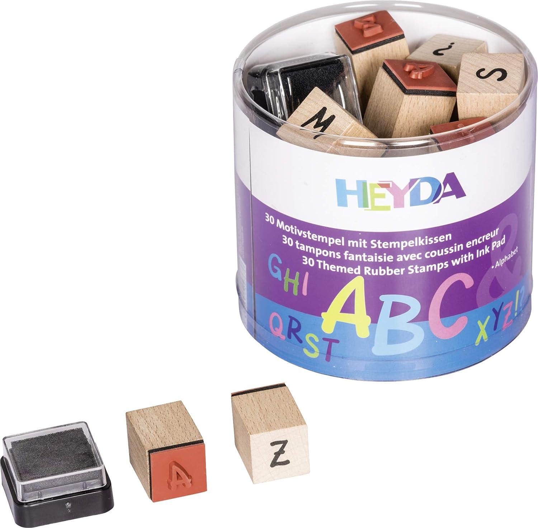 Baby Heyda Motivstempel-Set mit Stempelkissen Thema