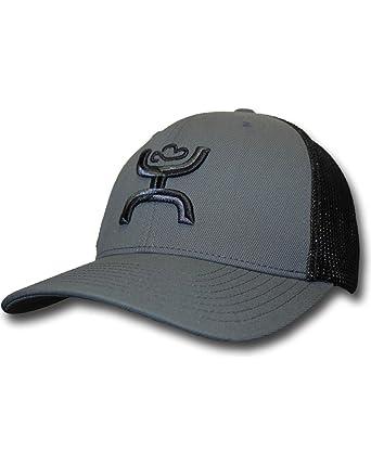 c954fddd6262b Hooey Men s Hooey Chi Grey And Snapback Trucker Hat - 1651T-Gy - Grey -