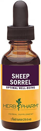 Herb Pharm Certified Organic Sheep Sorrel Liquid Extract