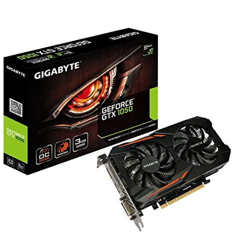 Gigabyte GeForce GTX 1050 OC 3G 3GB GDDR5/HDMI/DisplayPorts/ PCI-Express Video Card Graphic Cards GV-N1050OC-3GD