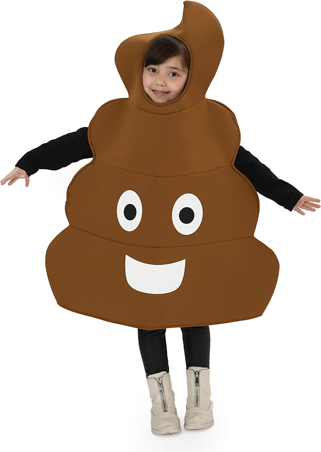 SPUNICOS Child's Poop Costume Funny Costume for Halloween,Christmas Costumes for Boys and Girls