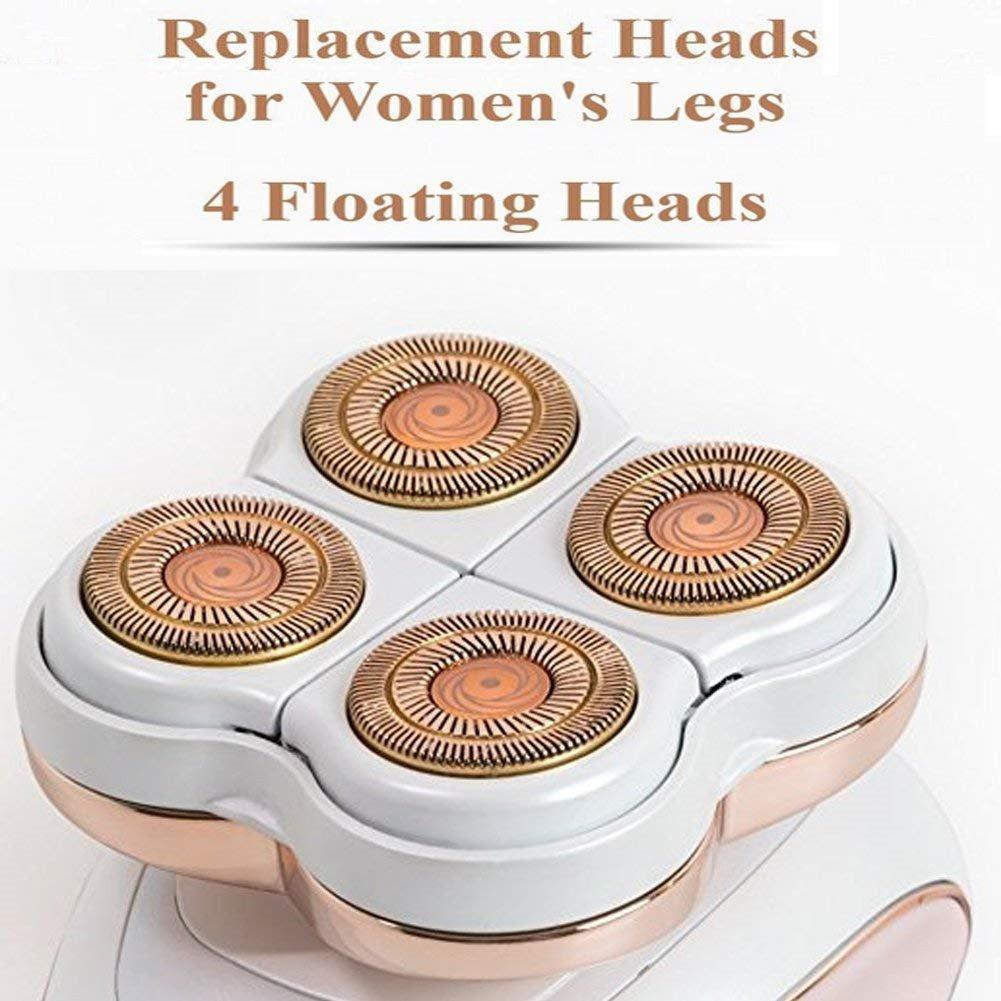 Replacement Blade Heads Legs Women Hair Remover, Hair Remover Replacement Head with a Bracket for Legs, Bikini, Arms, Ankles