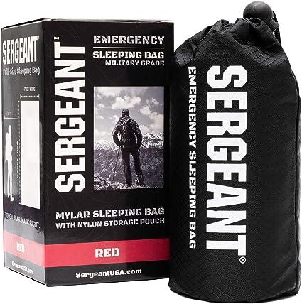 Amazon.com: SERGEANT Saco de dormir de emergencia ...