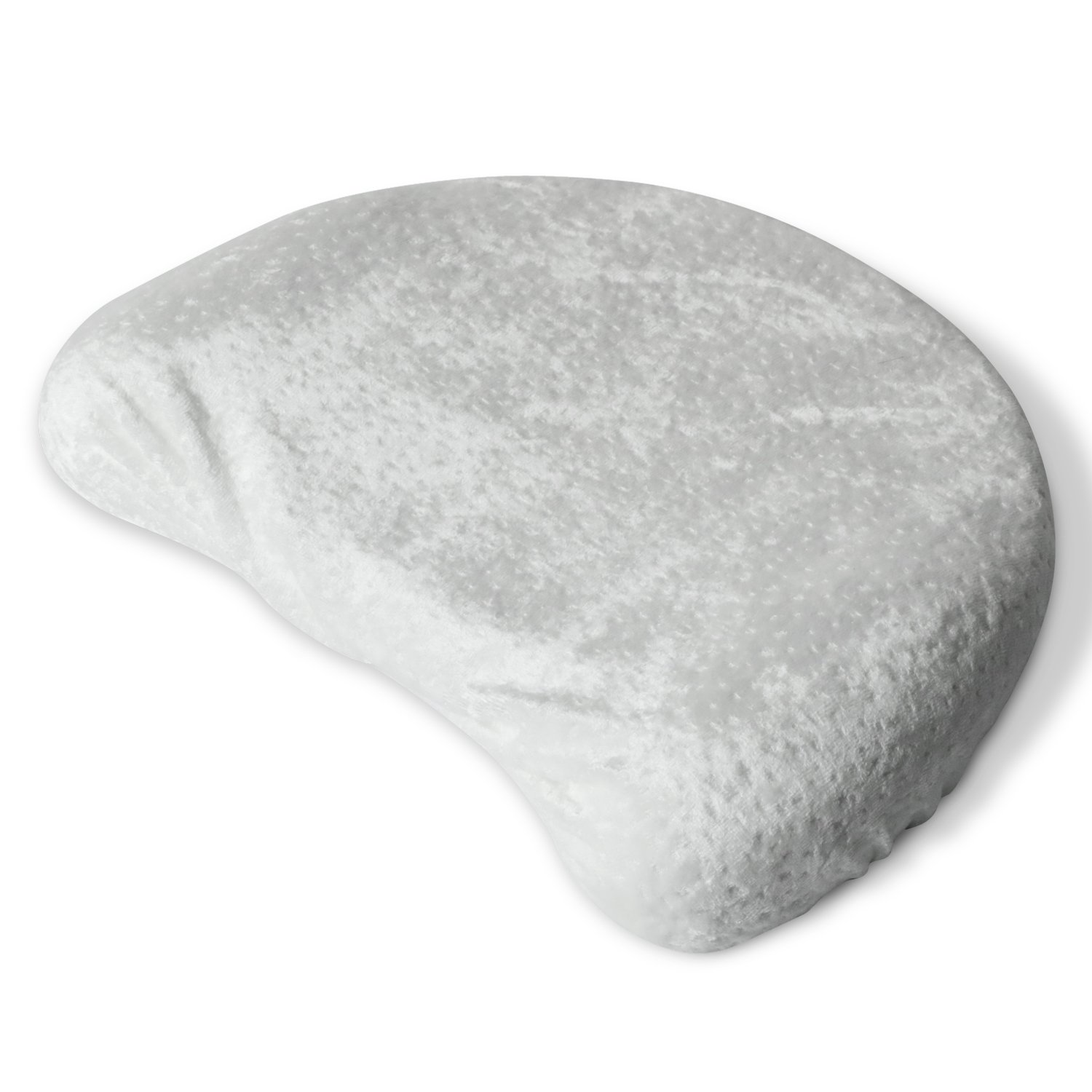 Nurtrco Baby Pillow + Bamboo Pillow Case. Ultra Soft & Comfortable For Infant & Newborn Boys & Girls. Memory Foam Helps Prevent Flat Head Syndrome (Plagiocephaly) And Keep Head Round.
