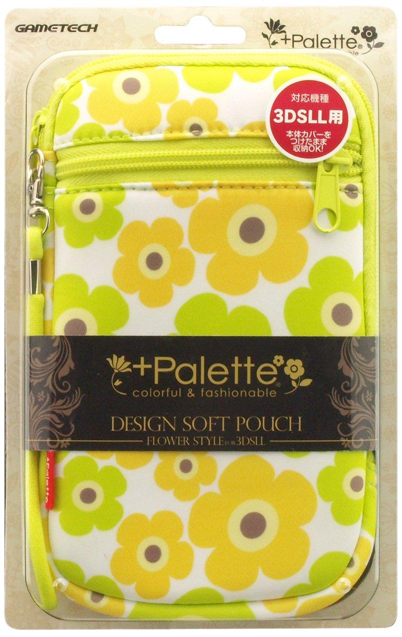 GAMETECH 3DS XL Designed Soft Pouch -Flower Oriental-