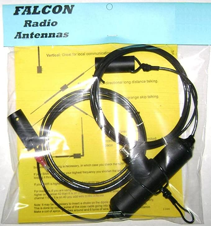 Falcon 2400 W 11 Meter dipolo antena CB Radio estación base
