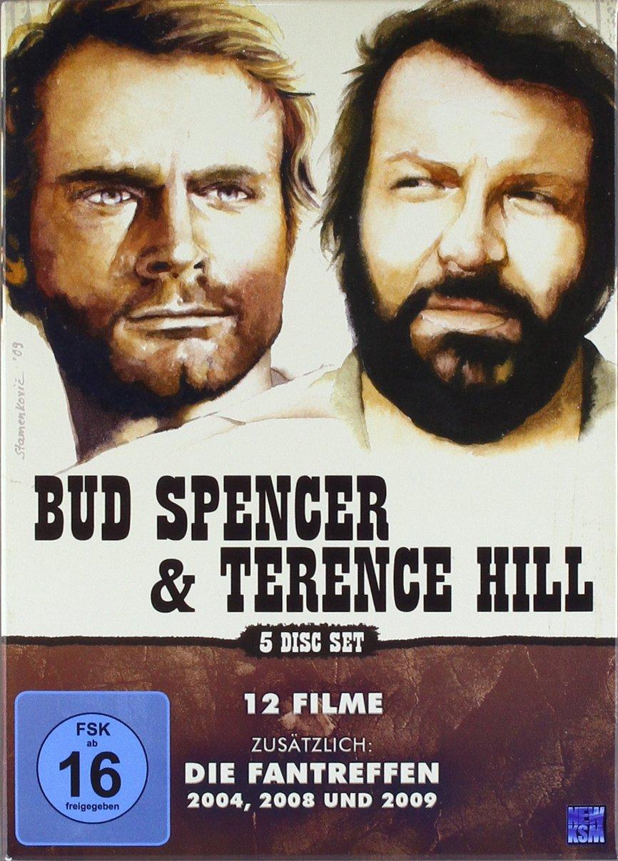 Amazoncom Bud Spencer Amp Terence Hill 12 Filme 5 Dvds