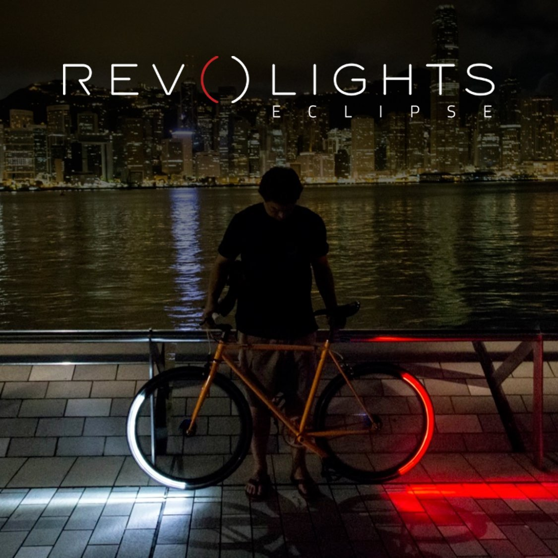 Revolights Eclipse Bicycle Lighting System, 700c/27-Inch by Revolights (Image #1)