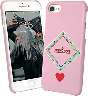 Monopoly Love Society Game Player_004868 Phone Case Cover Carcasa De Telefono Estuche Protector For iPhone 7 Plus iPhone 7s Plus Funny Christmas: Amazon.es: Electrónica
