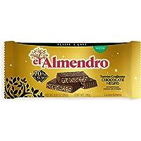 El Almendro Turrón de Chocolate Negro Crujiente 70%