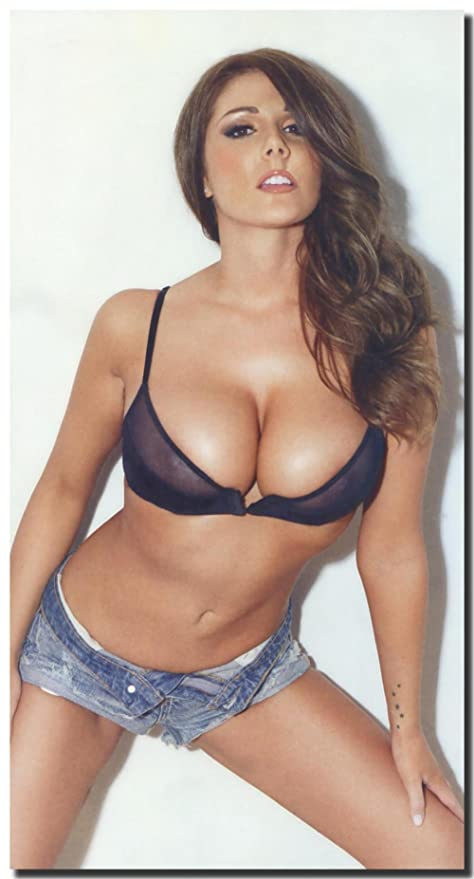 Art City Lucy Pinder Hd Sexy Female Model Fabric Poster 43 X 24