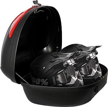 Todeco - Top Case Universal, Maletín Para Moto - Material: PP ...