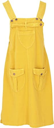 Guru-Shop - Falda de peto con tirantes para mujer, algodón, faldas ...