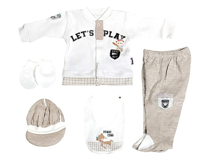 b04d0647d5 Amazon.com  Happylittlebabies Let s Play Baby Boy Clothes Gifts ...