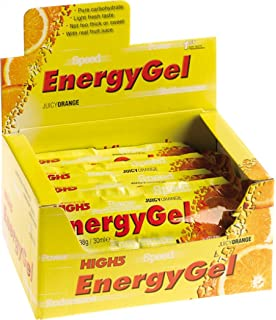 High 5 Energy Gel Raspberry + Caffeine 20 x 38g: Amazon.co.uk ...