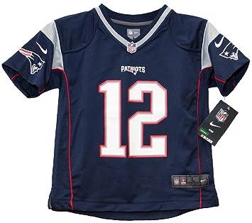 Amazon.com : Tom Brady Patriots Preschool Nike Game Jersey (Kids 5 ...
