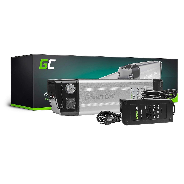 GC® EBIKE Batería 48V 11.6Ah Bicicleta Eléctrica Silverfish Li-Ion con Celdas Panasonic y Cargador Ohm Espin Electric Rymebikes