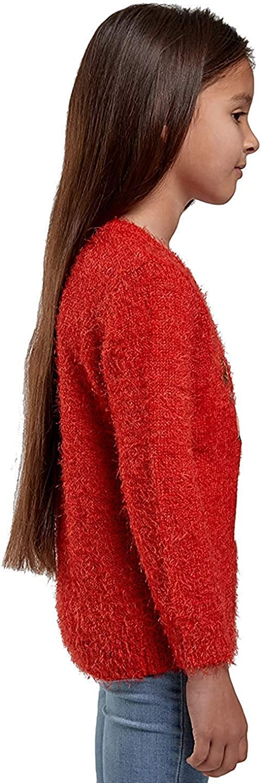 Girls Christmas Jumper Kids 3D Novelty Festive Knitted Sweater